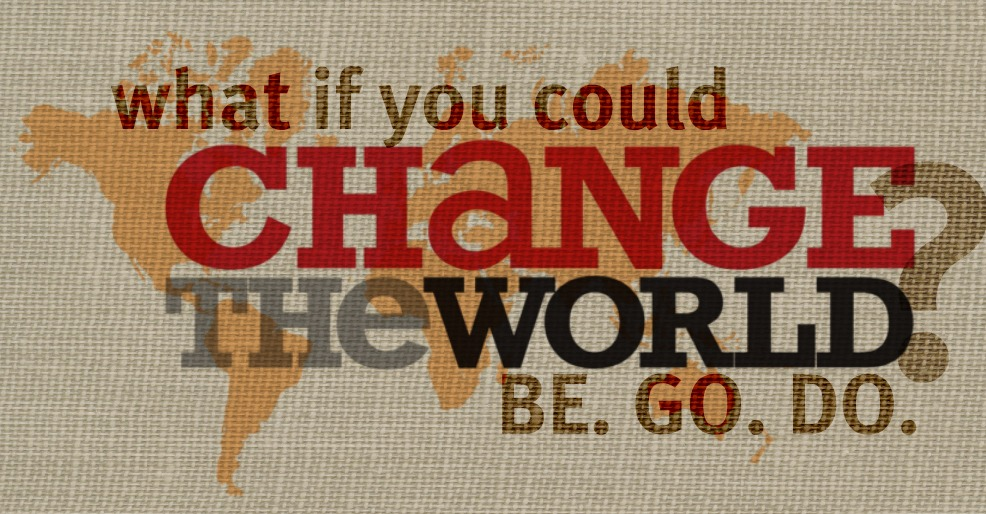July Series – Change The World | OOTBWC