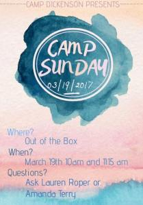 camp-sunday