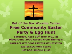 Easter Party Flyer JPEG