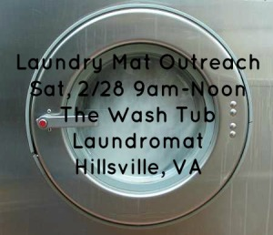 laundromat outreach