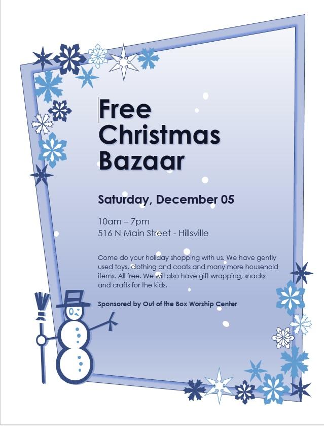 Christmas Bazaar2