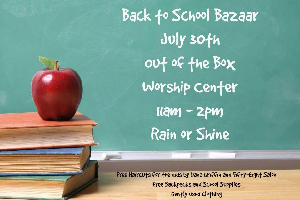 Back to School Bazaar Final